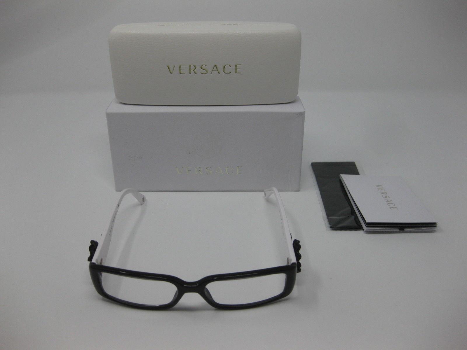 c3ff6b0c771 Versace 3115-B Eyeglasses Frames Crystal and 50 similar items