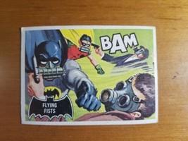 1966 Topps Batman Black Bat #44 Flying Fists  - $2.97