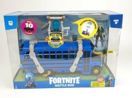 Fortnite Battle Bus Deluxe Vehicle Pack NEW 2020 Toy w/ Recruit Figure (Jonesy) - $60.00
