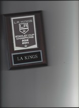 La Kings Banner Plaque Stanley Cup Champions Champs Hockey Nhl Los Angeles - $3.95