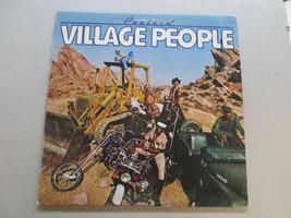 Village People Cruisin' vinyl record album fan club flyer - $8.59