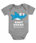 BABY SHARK DOO DOO DOO ONE PIECE SNAP TEE SHIRT 24 MONTHS  NWOT :B19-50 - $13.85