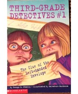 Clue of the Left-Handed Envelope Third-Grade Detectives by George E. Sta... - $4.46
