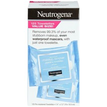 Neutrogena Makeup Remover 125 ct Cleansing Wipes Cloths Towelettes Refil... - $26.58
