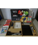 FULLY TESTED Black Edition Wii Console System Complete in Box W/ Super M... - $127.70