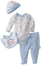 Vitamins Baby Preemie 4-Piece Creeper Pant Set Safari Pals - $30.00