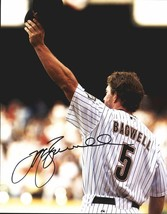 Jeff Bagwell authentic signed baseball 11X14 photo W/Cert Autographed A0013 - $109.95