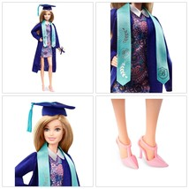Barbie Graduation Day Fashion Doll Blond Long Hair Student Gift Girls To... - $20.79