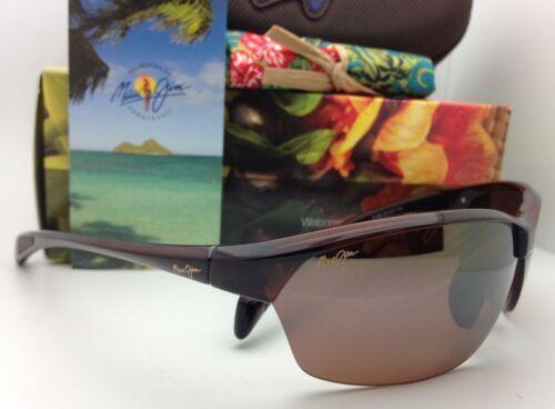 Nuevas Polarizadas Maui Jim Gafas de Sol Sexy Tierra Mj 426-26 Rootbeer Hcl image 5