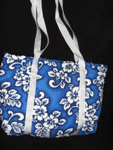 EKE DIAPER BAG Blue Cotton with Matching Change Pad NWT - $12.95
