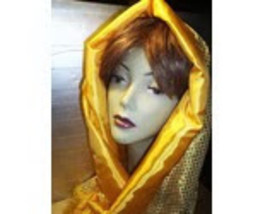 GOLDEN YELLOW BERET AND SCARF SET! image 2