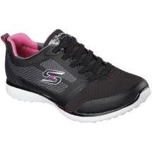 Women's Skechers Spirited Sneaker Black / White Size 11 #NG4EC-132 - $44.54