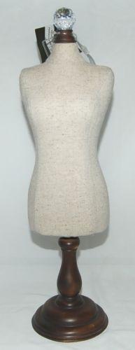 Tripar 35866 Styrofoam Body Form Fashion Display Decorative pins Color Cream