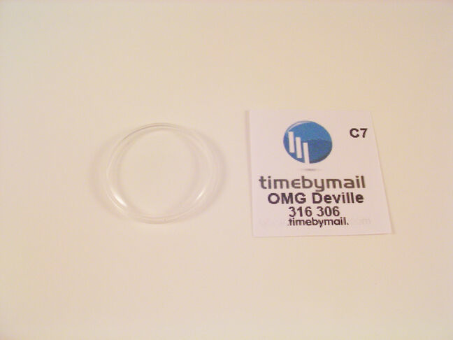 New For OMEGA DEVILLE Watch Crystal Plexi Glass Replacement Spare Part 31.6mm C7 - $19.03