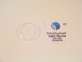 New For OMEGA DEVILLE Watch Crystal Plexi Glass Replacement Spare Part 3... - $19.03