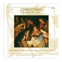 Christmas: The Night Office: Vigils Directed by Dom Jean Claire [CD]