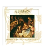 Christmas: The Night Office: Vigils Directed by Dom Jean Claire [CD] - $23.98