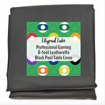 Lilypad Lake Heavy Duty Premium 8 Foot Leatherette Billiard Pool Table C... - $28.83