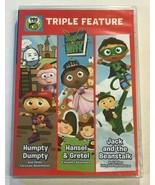 SUPER WHY Triple Feature NEW PBS Kids Humpty Dumpty Jack Beanstalk Hanse... - $10.99