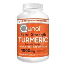 Turmeric Curcumin Capsules, Qunol with Ultra High 1000mg, - $41.55