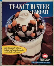 Dairy queen poster peanut buster parfait 11x14 - $39.96
