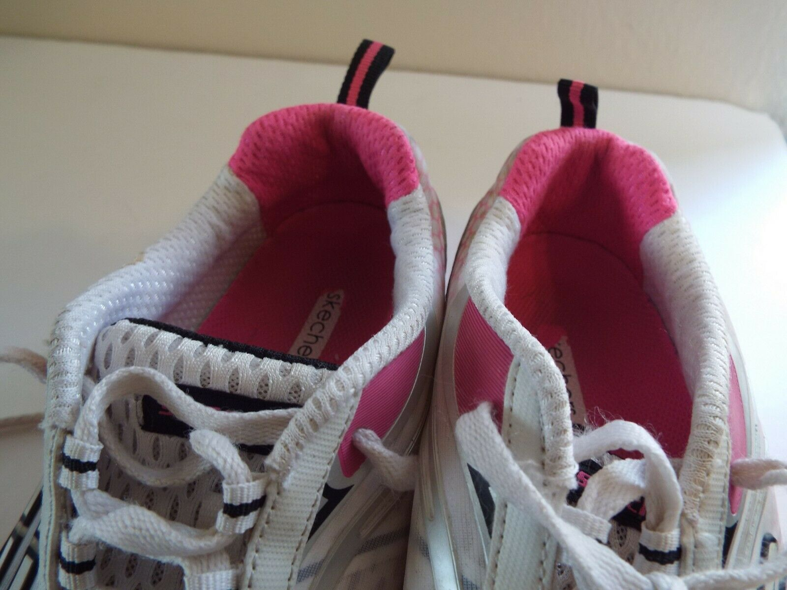 Skechers Flex 8 Women Sneakers Pink and White image 6