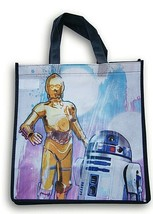 STAR WARS Disney R2-D2 C-3PO Grocery Tote NEW Reusable Shopping Bag - $9.89
