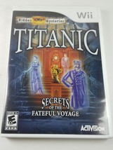 Wii Hidden Mysteries: Titanic - Secrets of the Fateful Voyage - $25.81
