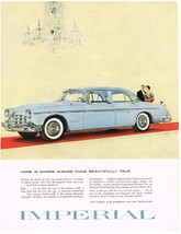 Vintage 1955 Magazine Ad Chrysler Here Is Where Wishes Come Beautifully True - $5.93