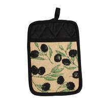 Olives Tapestry Design Kitchen Cooking Oven Pan Pot Holder Single - $6.99