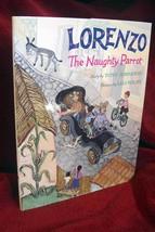 LORENZO THE NAUGHTY PARROT by Tony Johnston ILLUSTRATED by LEO POLITI li... - $245.00