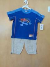 "Le Top Toddler Boys ""Racer!"" Knit Shirt & Woven Pant - $32.00"