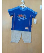 "Le Top Toddler Boys ""Racer!"" Knit Shirt & Woven Pant - $32.00"
