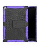 Dual Layer Protective Kickstand Case For Apple iPad 9.7 (2017) - Purple  - $28.99