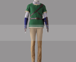 Customize The Legend of Zelda: Twilight Princess Link Cosplay Costume fo... - $135.00