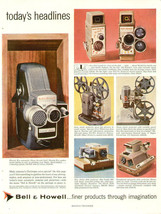 Vintage Ad-Print 1950's Bell and Howell Camera and Projectors AD-Print 368 - $9.49