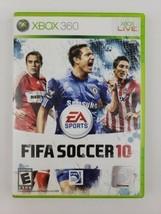 FIFA Soccer 10 (Microsoft Xbox 360, 2009) CIB Complete w Manual Tested & Working - $5.99