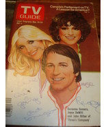 TV GUIDE Three's Company  SUZANNE SOMMERS - £7.08 GBP