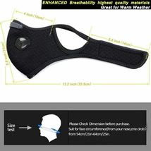 Breathable Face Mask with Filters by SKYLMW image 3