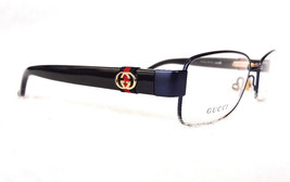 GUCCI Frame Glasses GG4243 STAINLESS STEEL Matte Blue 135 MADE IN ITALY ... - $199.95