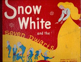 Snow White and The Seven Dwarts 78RPM Record - $9.95