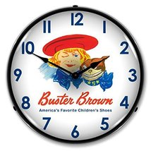 Buster Brown Lighted Wall Clock - $129.95
