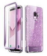 Samsung Galaxy S9 Plus Cosmo Case with Full-Body Coverage (Purple) - $13.99