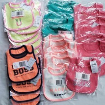 Lot of 20 Carter's Baby Bibs New Resellers - $54.44