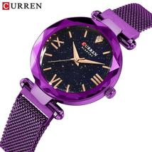 CURREN Luxury women's, casual watches with steel mesh strap.M-9033. - $37.99