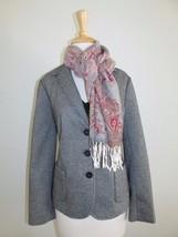 New Talbots Size 10P Gray Wool Blend Classic School Boy Jacket Blazer - $64.23