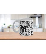 Funny Coffee Mug Gift For Cat Lovers Crazy Cat Lady - $14.84+