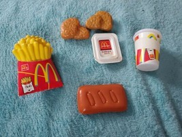FIsher Price Fun With Food McDonald's Miscellaneous lot Nuggets Fries 8 pc - $15.56