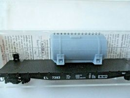 Micro-Trains # 04500540 Erie Lackawanna 50' Flat Car with Load N-Scale image 4