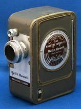 BELL & HOWELL 172 Magazine Vintage Movie Camera Super COMAT f/1.9 12mm L... - $49.50